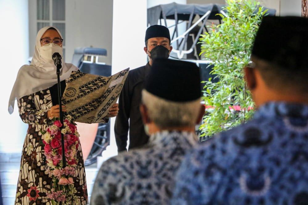 Bupati Purwakarta Lantik Puluhan Pejabat Administrator dan Pengawas