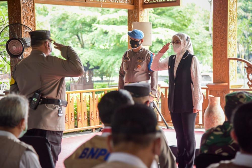 Operasi Ketupat Lodaya 2021, Forkopimda Purwakarta Gelar Apel Pasukan
