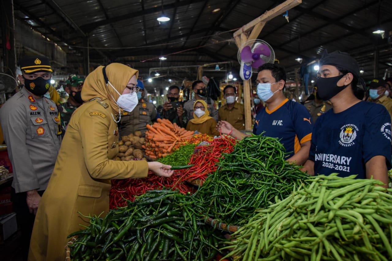 Operasi Pasar, Forkopimda Pastikan Stabilisasi Harga Pangan Jelang Ramadhan