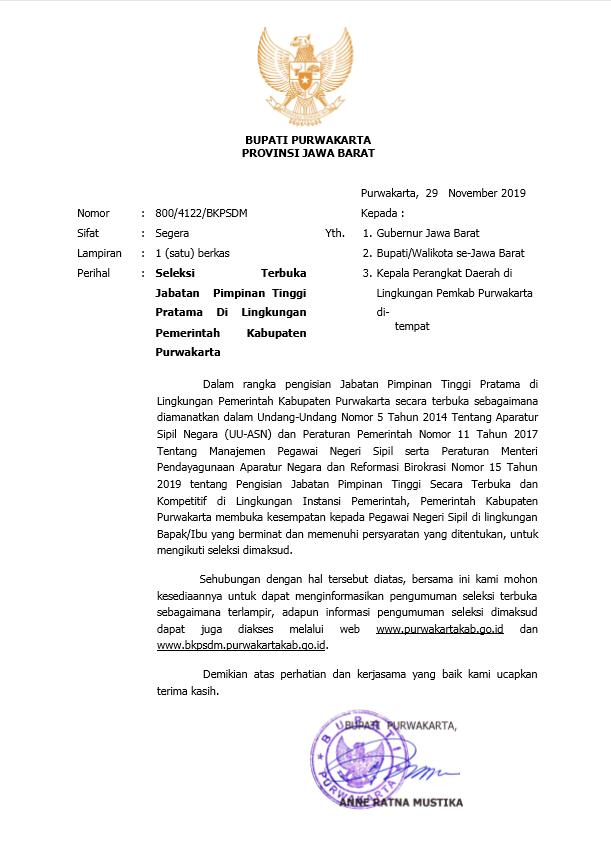 Kop Surat Provinsi Jawa Barat - Contoh Kop Surat