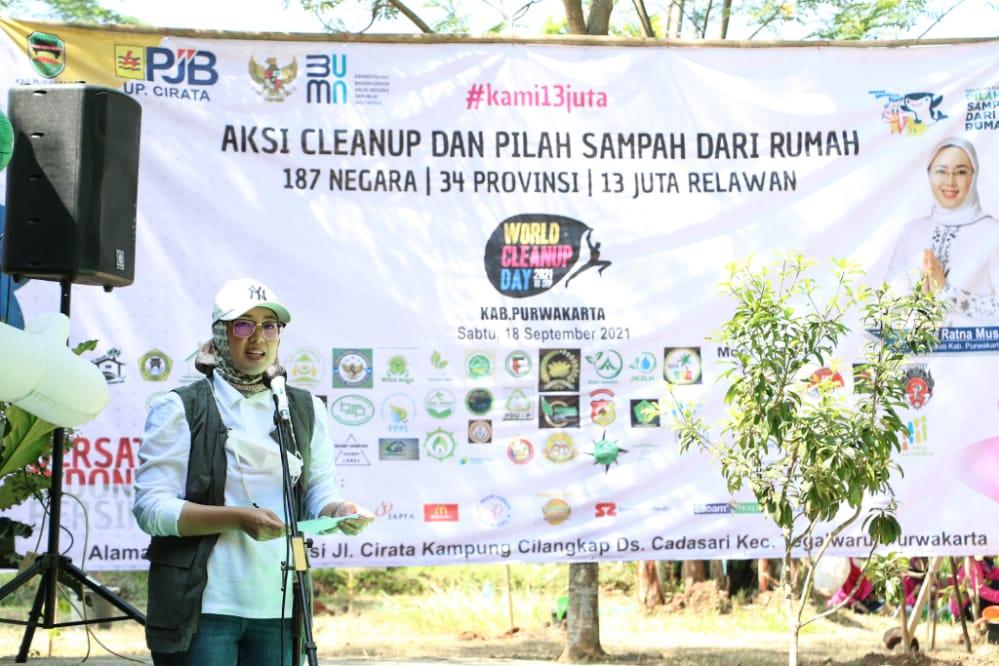 Momentum World Cleanup Day dan Pengelolaan Sampah Mandiri