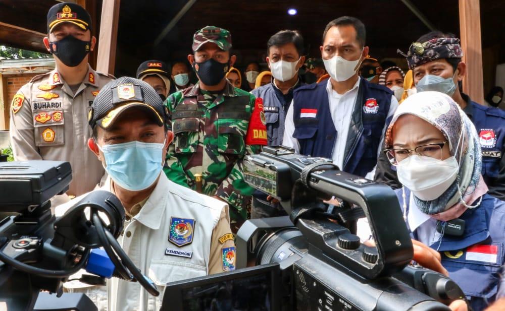 Monitoring Pilkades Serentak, Dirjen Binapemdes Kemendagari Kunjungi Purwakarta