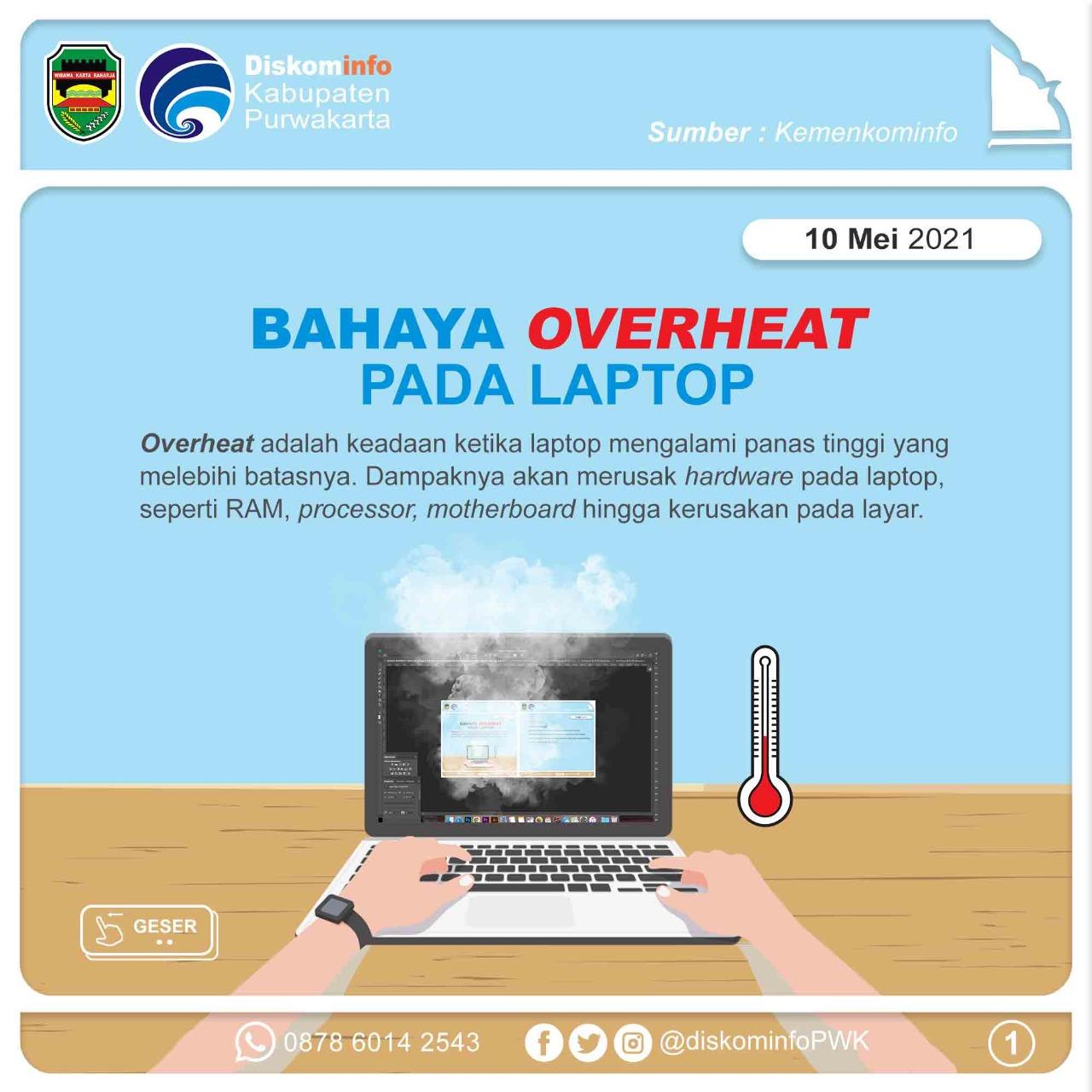 Bahaya Overheat Pada Laptop