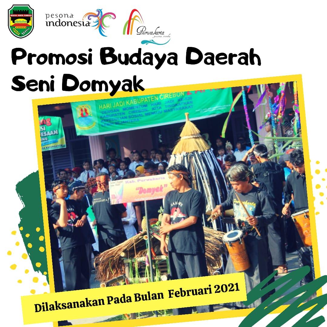 Promosi Budaya Daerah Seni Domyak