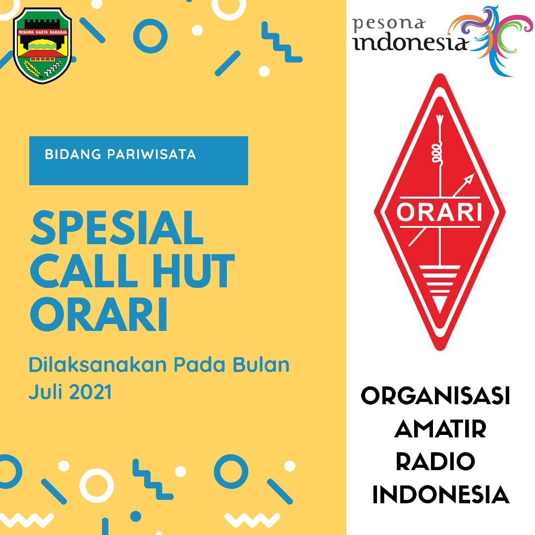 Spesial Call HUT ORARI